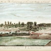 Copy after Amos Doolittle's 1775 -The Engagement at the North Bridge in Concord