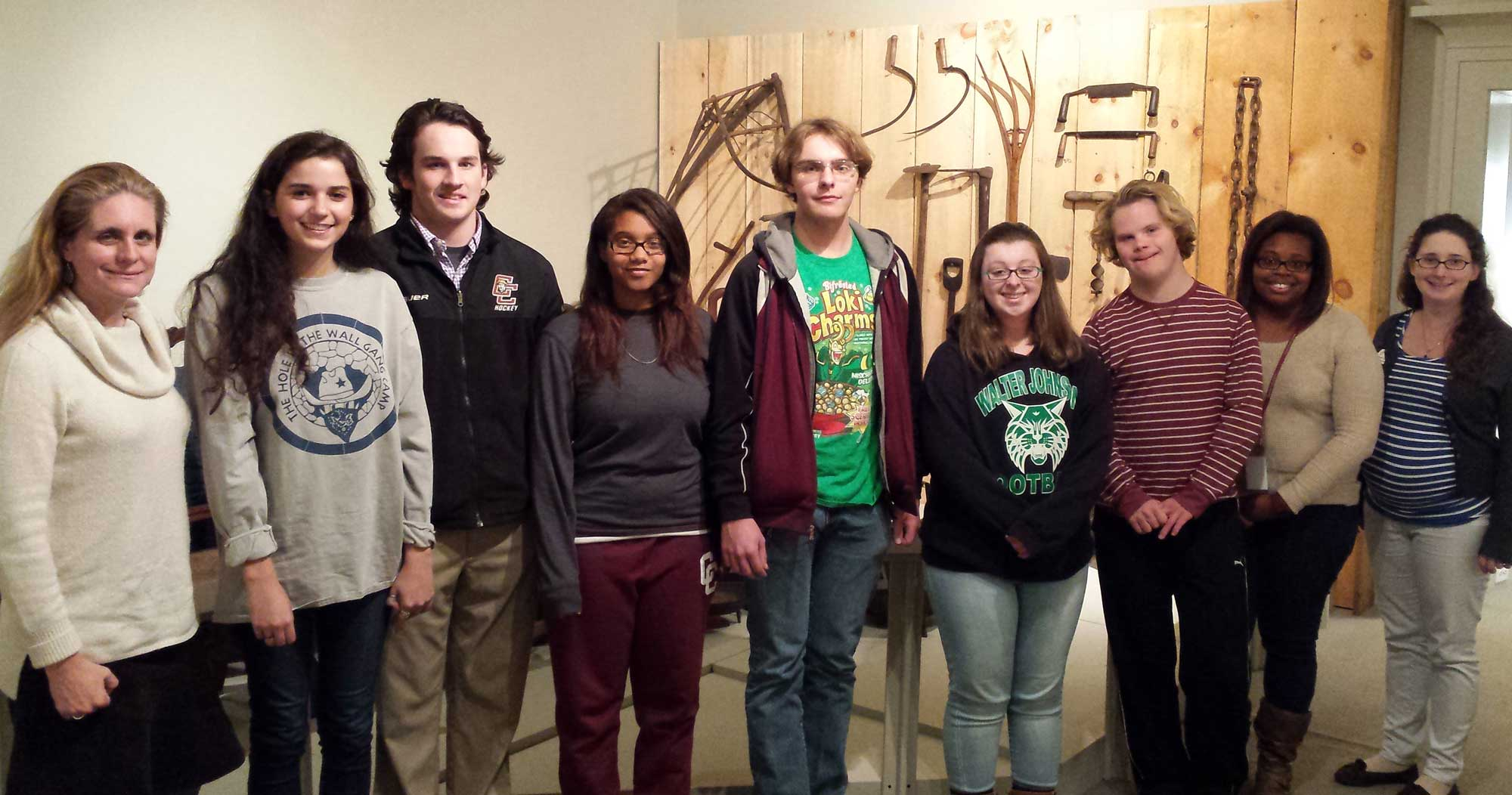 Students from the Rivers and Revolutions Program at Concord-Carlisle High School helped create the Thomas Dugan lesson plan.