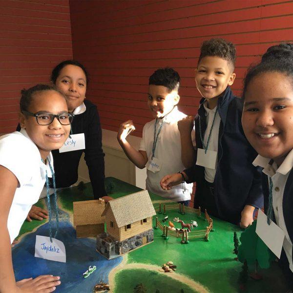 tarbox school diorama