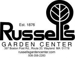 Russells Garden Center logo